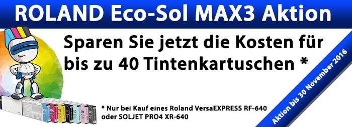 ECOSOLMAX3-Aktion