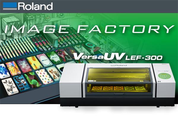 Roland Banner - VersaUV LEF 300