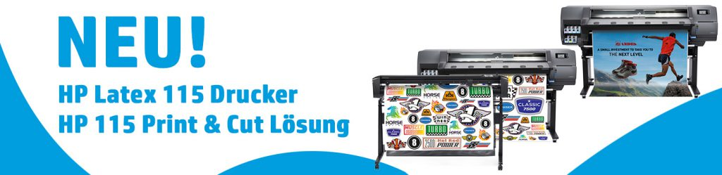HP Latex 115 Drucker