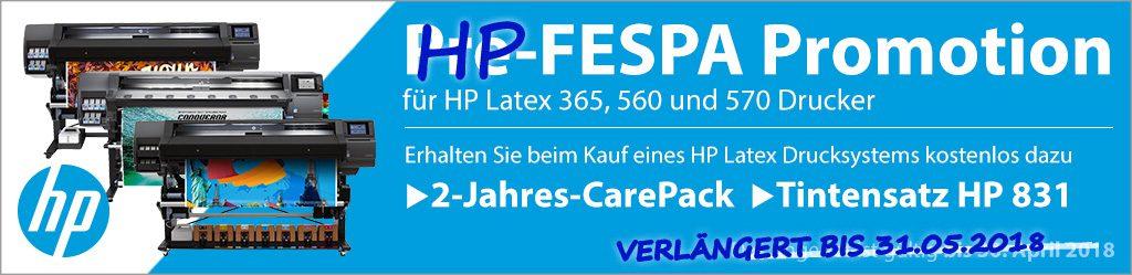HP Pre-FESPA Promotion