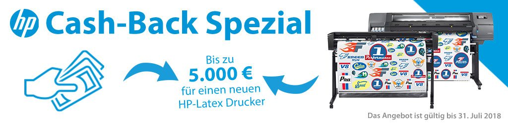 HP Cash-Back Special
