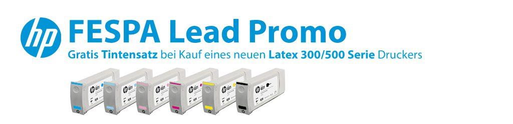 HP FESPA Lead Promo