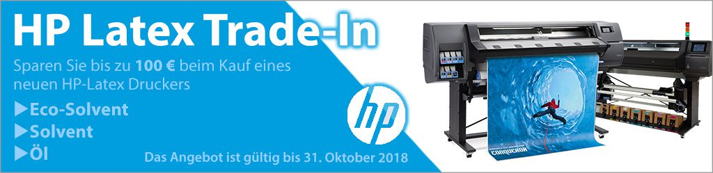 HP Latex Trade-In bis Oktober