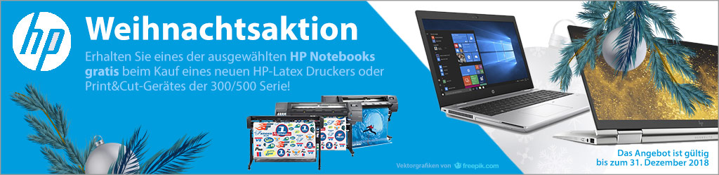 HP Weihnachtsaktion
