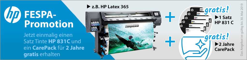 HP FESPA-Promotion