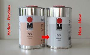 Etikettierung Marabu