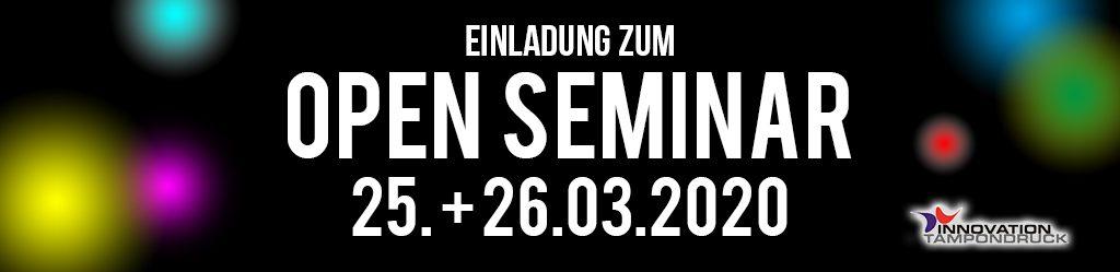 Open Seminar 2020