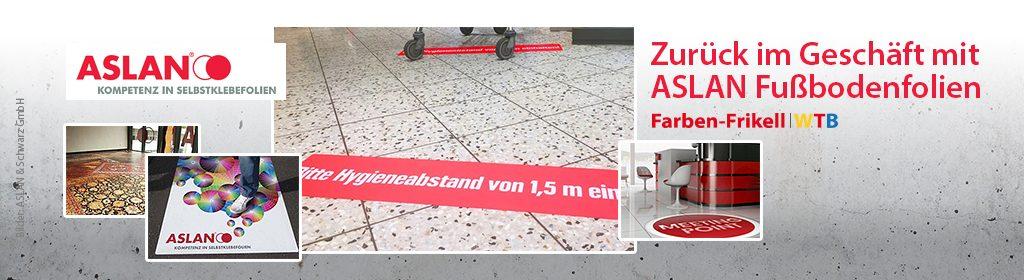 Fußbodenfolie