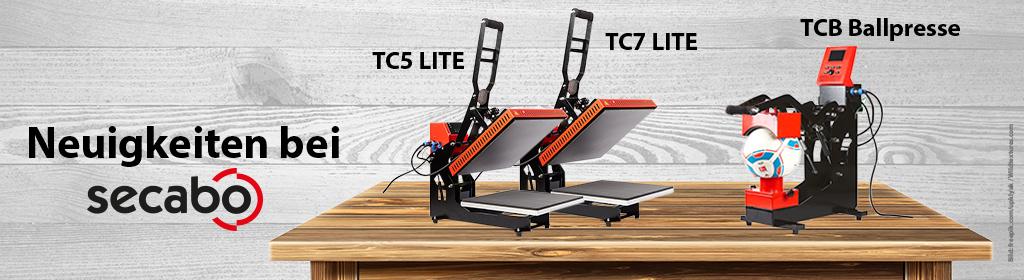 Secabo TC5 LITE | TC7 LITE | TCB SMART Ballpresse