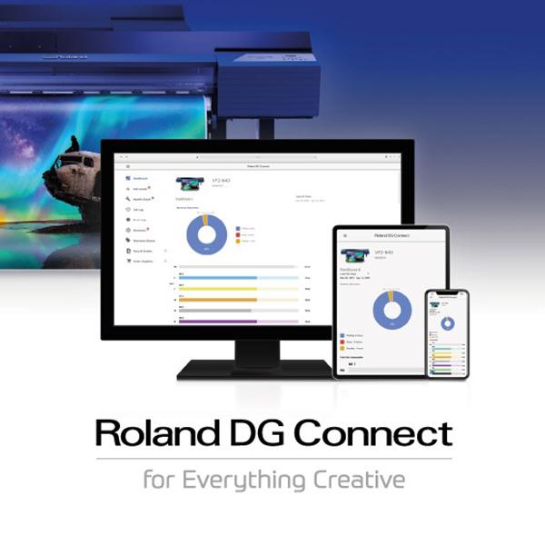 Roland DG Connection App